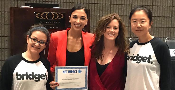 Bridget, 2017 Net Impact Pitch Competition Winner