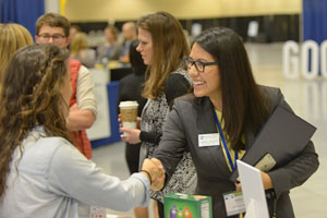 Networking at the Net Impact Expo