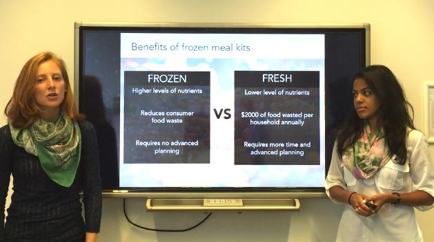 Kitchen Table Fresh v Frozen Food