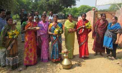 Members of the Maa Lankeshwari Seedbank in India, Source: The Guardian